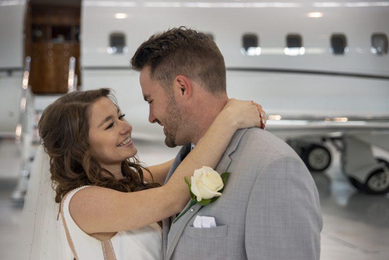 Air Hanger Wedding